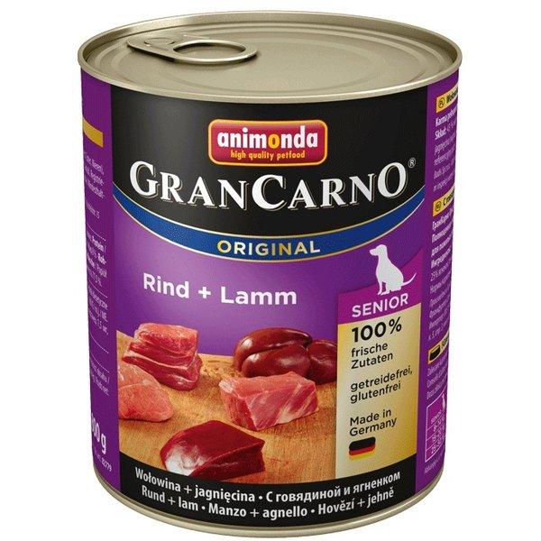GranCarno®  Senior - консерви за възсрастни кучета