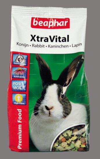 Beaphar Xtra Vital - храна за зайци с високо качество