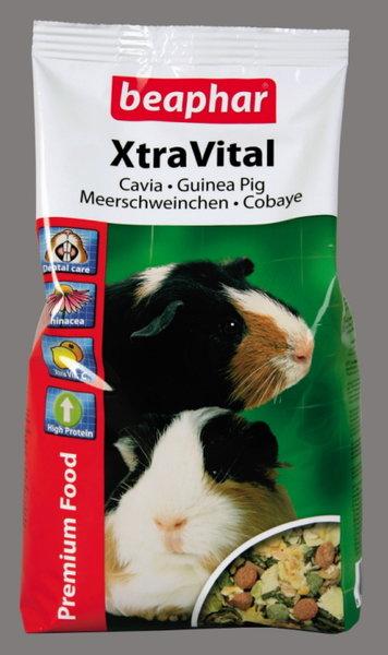 Beaphar XtraVital пълноценна храна за морски свинчета с вит. C
