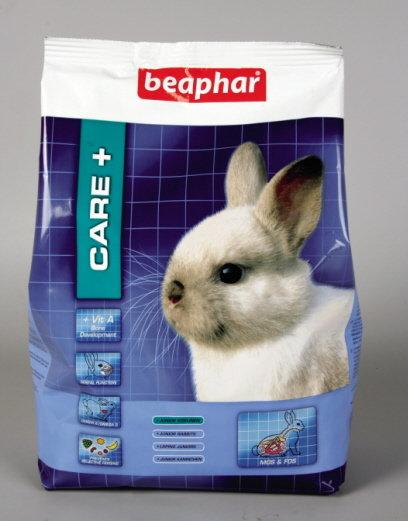 Care+  Super Premium храна за малко зайче