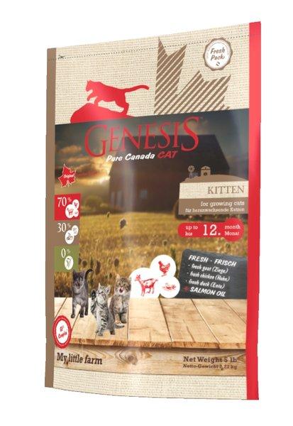 Genesis Pure Canada - My Little Farm - Kitten за малки котенца и бременни, кърмещи котки