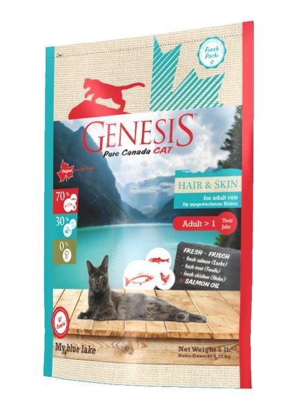 Genesis Pure Canada - My Blue Lake - Hair&Skin за красива козина и здрава кожа, израснали котки