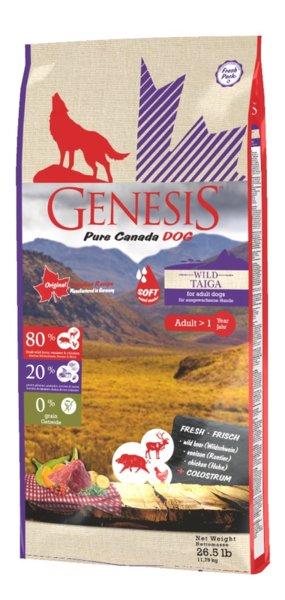Genesis Pure Canada - Wild Taiga -  за исраснали кучета от дребни породи, полувлажна