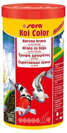 Sera Koi Color -  храна за подсилване на цветовете на КОИ