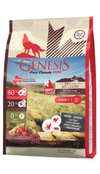 Genesis Pure Canada - Broad Meadow - суха храна за кучета над 1 година без зърнени култури