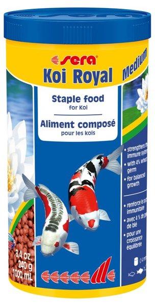 Sera Koi Royal храна за риби Кои и други езерни