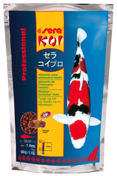Sera Koi Proffesional Spring and Autumn Food храна за ежедневно хранене на КОИ при различни температури на водата