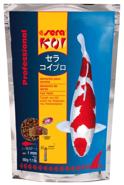 Sera Koi Proffesional Summer Food храна за ежедневно хранене на КОИ през топлите сезони