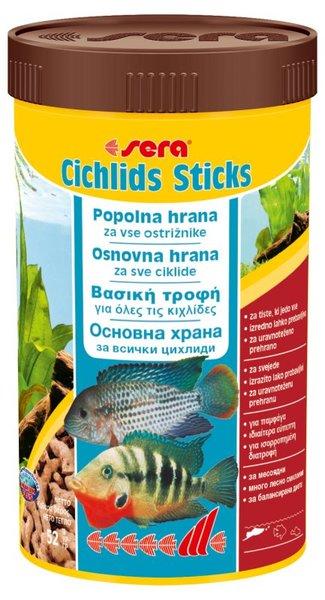 Sera Сichlids Sticks храна за цихлиди