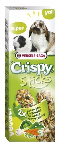 STICKS VEGETABLES стик за дребни животни със зеленчуци