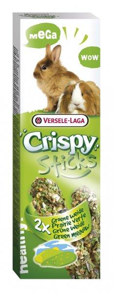 MEGA STICKS GREEN MEADOW крекер за дребни животни с трева