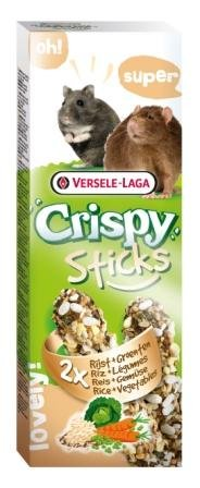 STICKS RICE & VEGETABLES крекер за дребни животни с ориз и зеленчуци