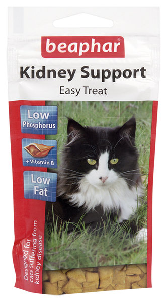 Beaphar Kidney-Bits лакомство за котки с бъбречни проблеми