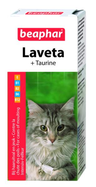 Beaphar Laveta - витамини на  капки за котки 50мл.