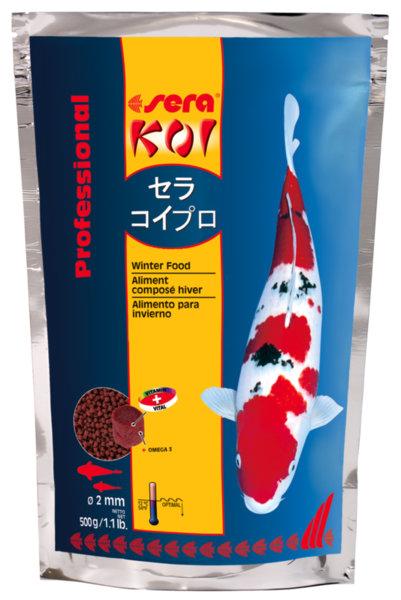Sera Koi Proffesional Winter Food пълноценна диета за КОИ