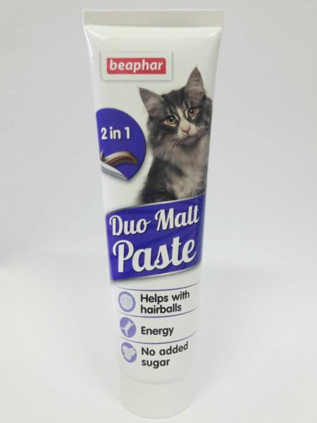 Beaphar Duo-Malt Paste - малцова паста 100гр.
