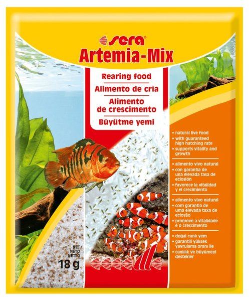 Храна за рибки Sera Artemia - mix