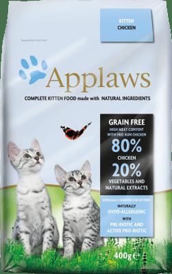APPLAWS KITTEN CHICKEN суха храна за малки котета с 80 % пиле