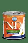 N&D DOG LAMB & PUMPKIN & BLUEBERRY PUPPY консерва за кучета до 1 година с месо от агне, тиква и боровинки