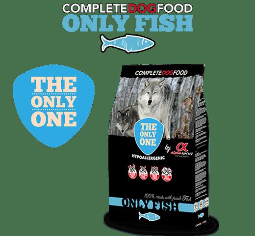 Alpha Spirit The Only One Fish суха храна за кучета с прясно месо от риба - монопротеин