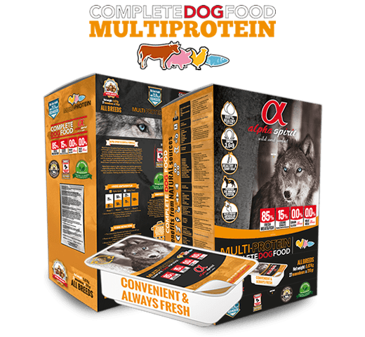 Alpha Spirit Only Fish Semi Moist полу суха храна за кучета монопротеин