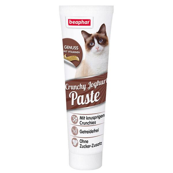 Beaphar Crunchy Yoghurt Paste хрупкава паста за котки