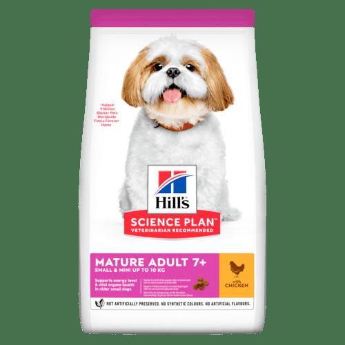 SP Canine Mature Small&Mini суха храна за кучета от малки и дребни породи над 7 г.