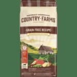 COUNTRY FARMS Grain Free, суха храна за кучета над 1 година от средни и едри породи, с Говеждо, 11 kg
