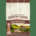 COUNTRY FARMS Grain Free Small & Mini, суха храна за кучета над 1 година от дребни и мини породи, с Пуйка