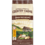 COUNTRY FARMS Grain Free, суха храна за кучета над 1 година от средни и едри породи, с Пиле
