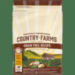 COUNTRY FARMS Grain Free, суха храна за кучета над 1 година от средни и едри породи, с Пиле, 11kg