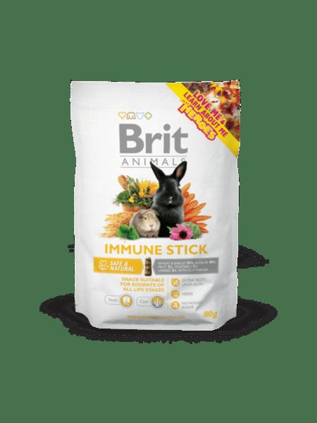 Brit Animals IMMUNE STICK for RODENTS допълваща храна за зайци