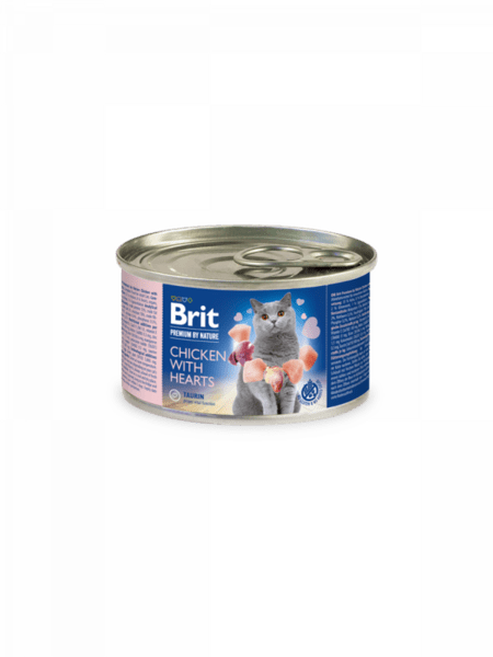 Brit Premium by Nature пастет за котки различни вкусове