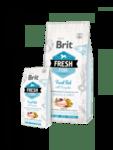 Brit Fresh Fish with Pumpkin Adult Large Muscles & Joints холистична суха храна за кучета от големите породи, с прясна риба и тиква