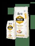 Brit Fresh Chicken with Potato Adult Great Life холистична храна за пораснали кучета от всички породи, с прясно пилешко месо и картофи