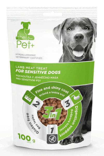 The Pet + For Sensitive dogs - лакомство за чувствителни кучета, с прясно агнешко месо