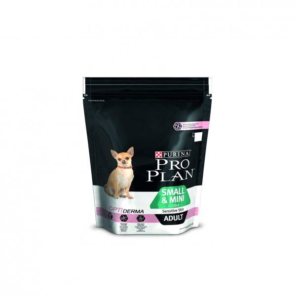 PRO PLAN SMALL&MINI ADULT SENSITIVE SKIN  храна за кучета от малки и мини породи със сьомга