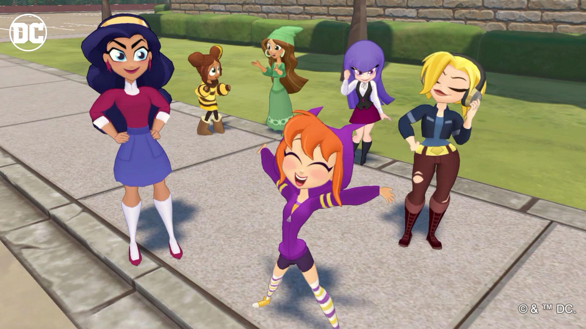 DC Super Hero Girls: Teen Power (Nintendo Switch)