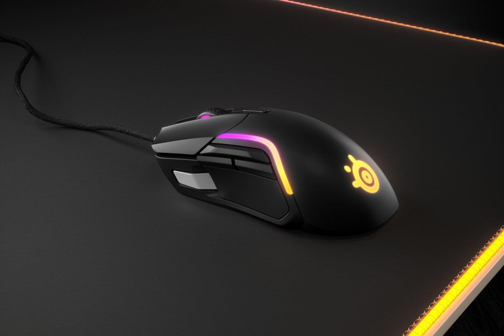 Гейминг мишка SteelSeries - Rival 5, оптична