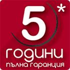5 г. гаранция Hotpoint