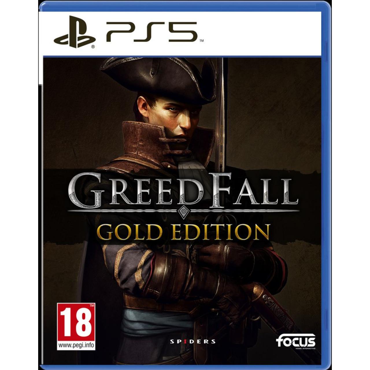 Игра FOCUS Greedfall Deluxe Edition (PS5)