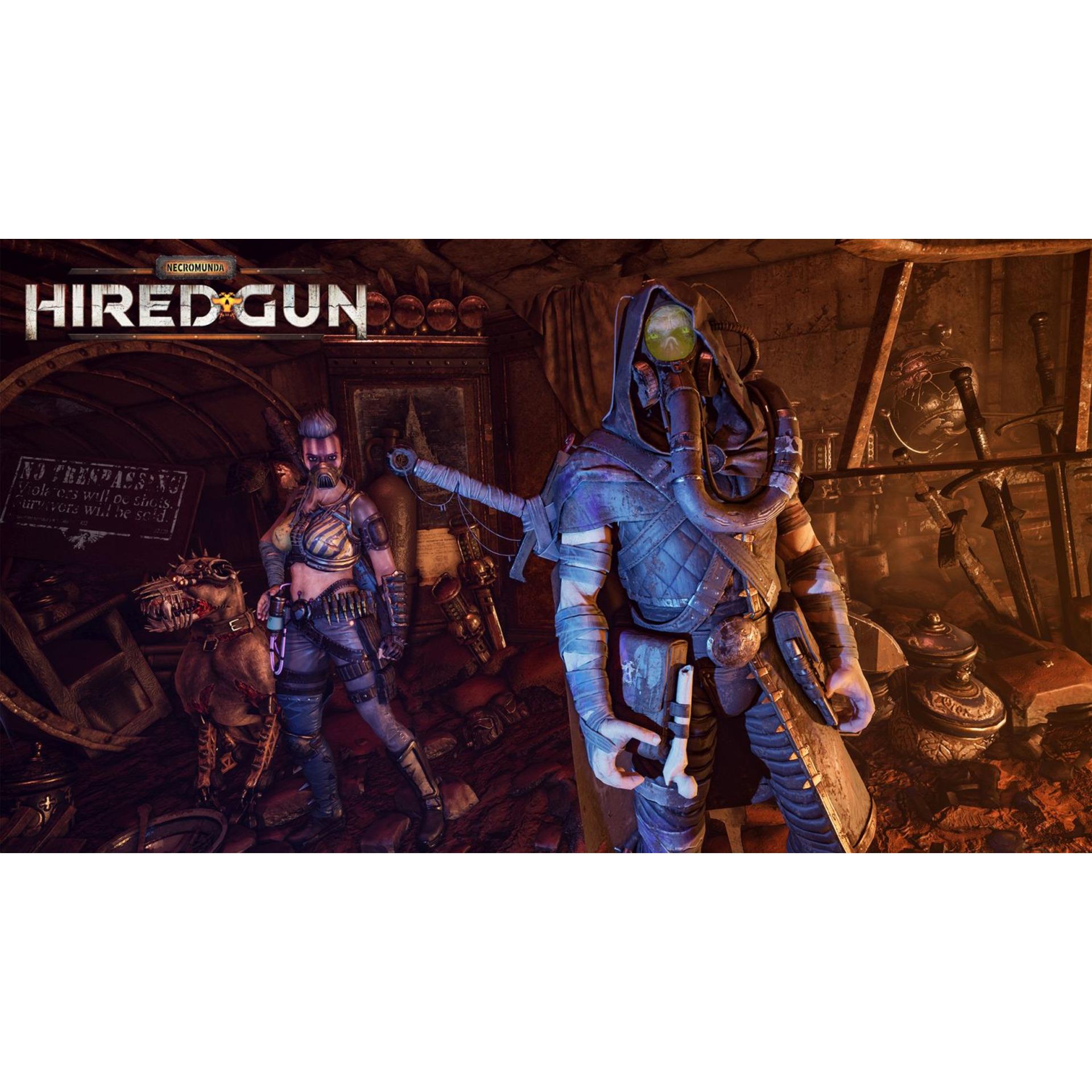 Игра FOCUS Necromunda: Hired Gun (PS4)