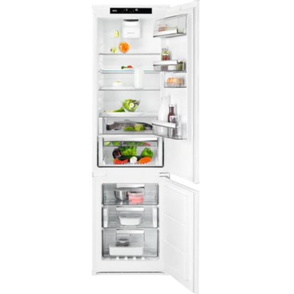 Вграден хладилник с фризер AEG SCB819E8TS , 274 l, E , No Frost