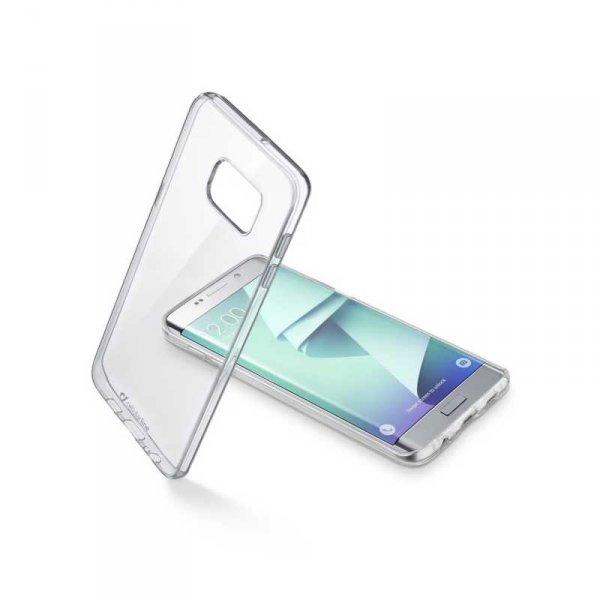 Калъф за смартфон Cellularline CLEARDUO SAMSUNG GALAXY S7 EDGE