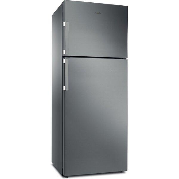Хладилник с горна камера Whirlpool WT70I 831 X , 423 l, F , No Frost , Инокс