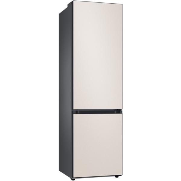 Хладилник с фризер Samsung BeSpoke RB38A6B1DCE/EF , 390 l, D , No Frost , Бежов