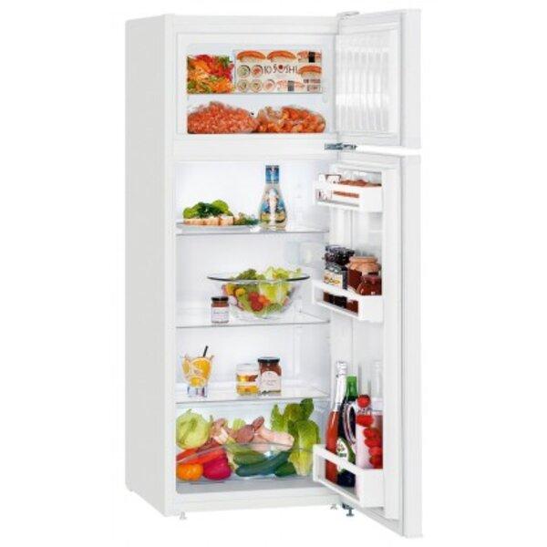 Хладилник с горна камера Liebherr CTP 231-21 , 234 l, F , Бял , Статична