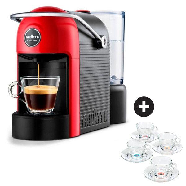 Кафемаш Lavazza Jolie RED+чаши