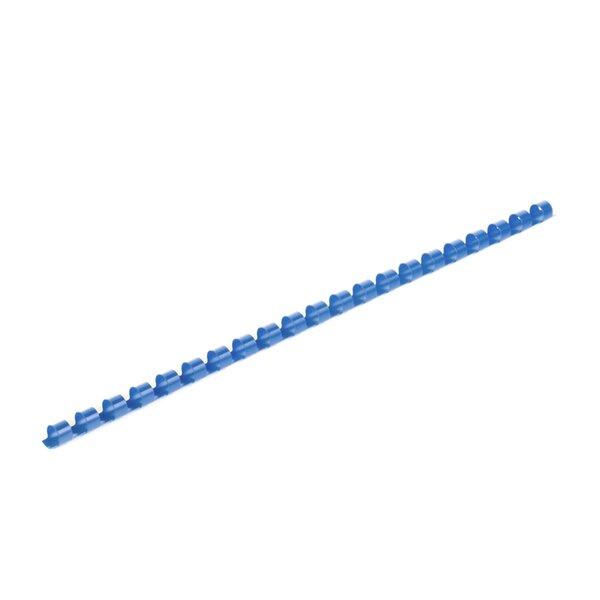 Top Office Спирали за подвързване, 8 mm, сини, 100 броя