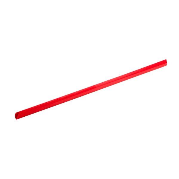 Top Office шини за подвързване, 6 mm, червени, 10 броя
